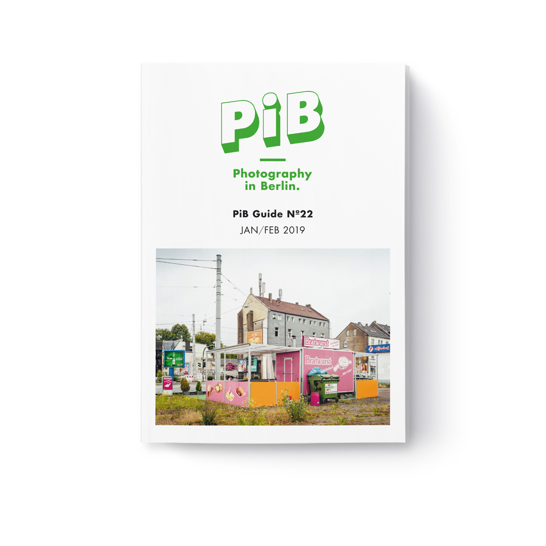 The PiB Guide Nº22 Jan/Feb 2019 © PiB – Photography In Berlin. #pibguide. COVER PHOTO: Bochum, 2012, From The Series Die Zweite Heimat (The Second Home) © Peter Bialobrzeski. Solo Exhibition »Peter Bialobrzeski | Die Zweite Heimat (The Second Home)« At HAUS Am KLEISTPARK Berlin.