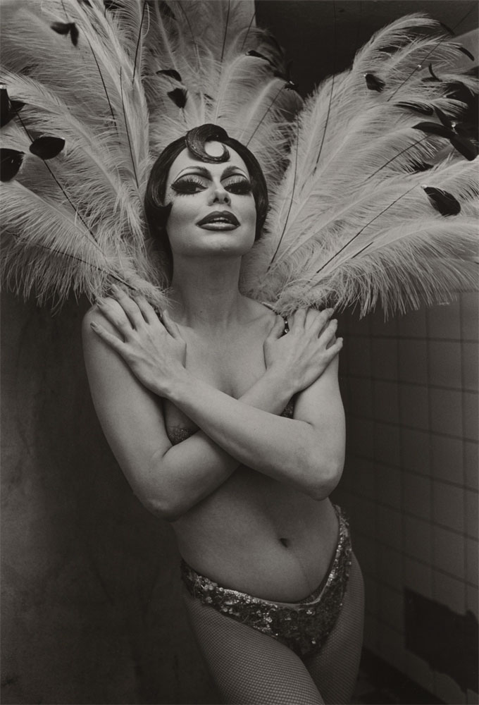 "ANDRÉ GELPKE (*1947), ""Rita, Salambo"", Aus Der Serie / From The Series ""Sex-Theater"", 1976, Gelatin Silver Print © André Gelpke / Courtesy Kicken Berlin"