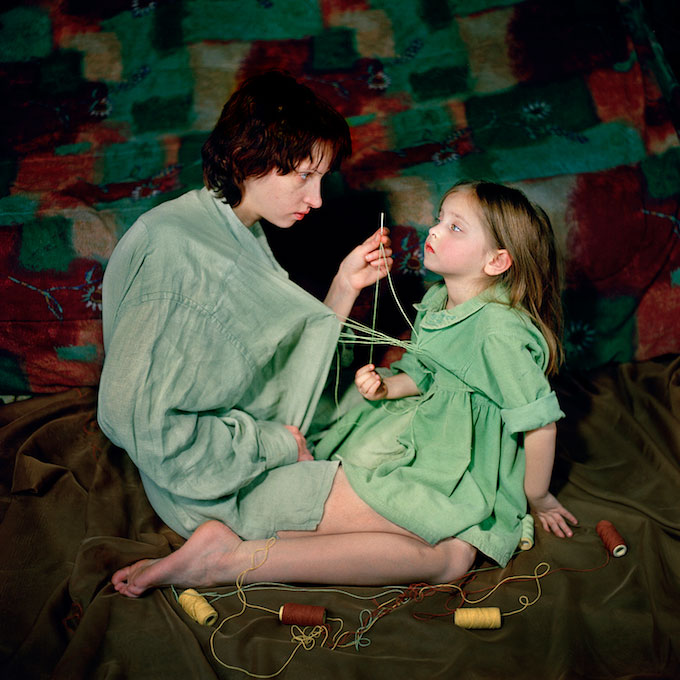 Attachment, From The Series 'Anna & Eve' © Viktoria Sorochinski
