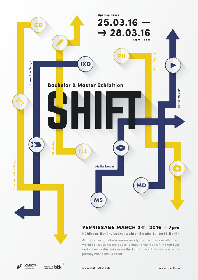 SHIFT © BTK University Of Art & Design
