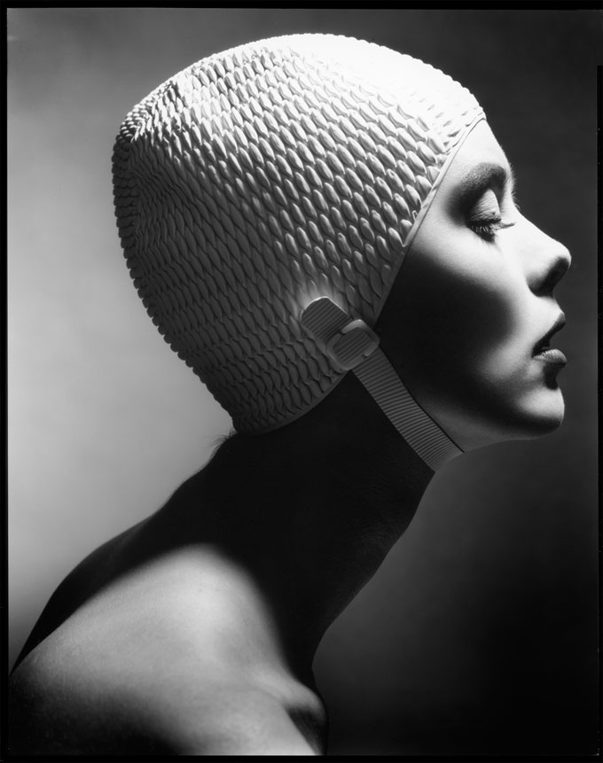 Len Prince, Swimming Cap Profile, New York, 1991 © Len Prince / Courtesy Staley-Wise Gallery, New York