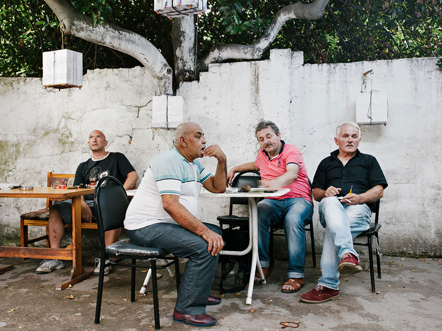 Birdmen Listening #2, From The Series For Birds' Sake © Cemre Yeşil & Maria Sturm