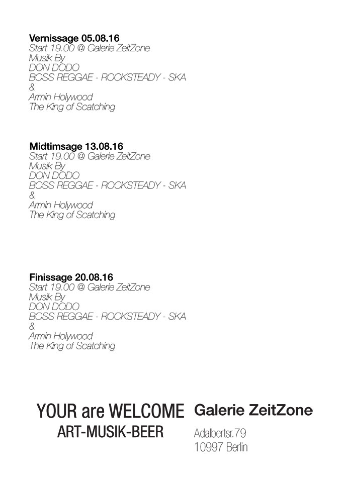 Berlin Based Photographers, Flyer