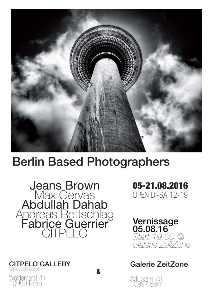 Berlin Based Photographers, Plakat