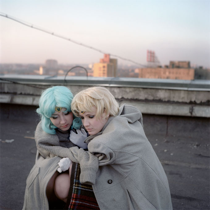 On The Roof, 2012, From Declared Detachment © Mariya Kozhanova