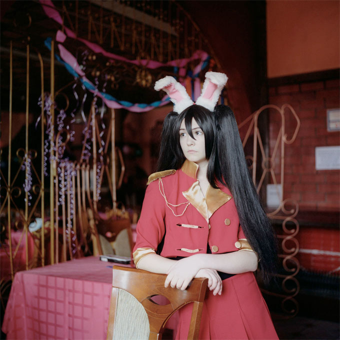 Red Bunny, 2012, From Declared Detachment © Mariya Kozhanova