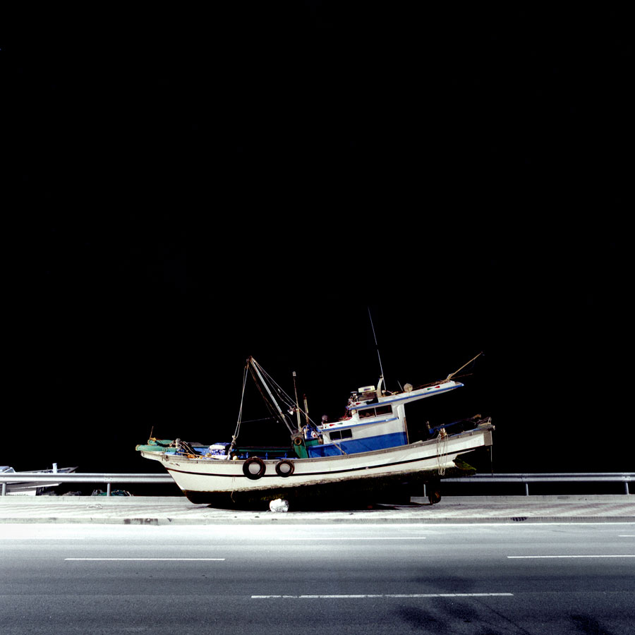 Ships, From The Series Korea Diary 2007-2008 © Juliane Eirich