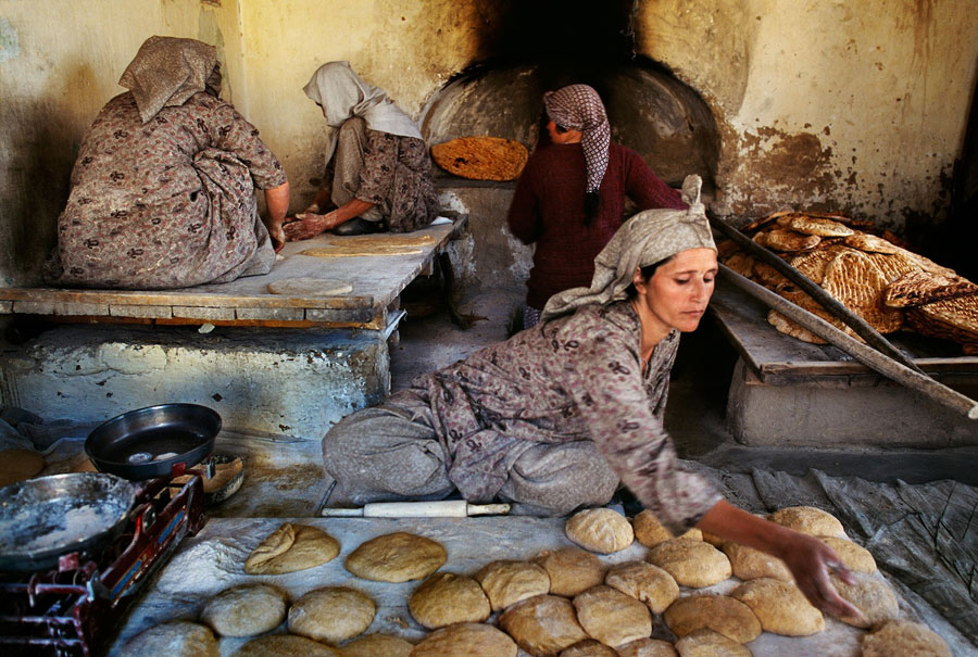 Bakery Run By Afghan Widows, Kabul, Afghanistan, 2002 © Steve McCurry