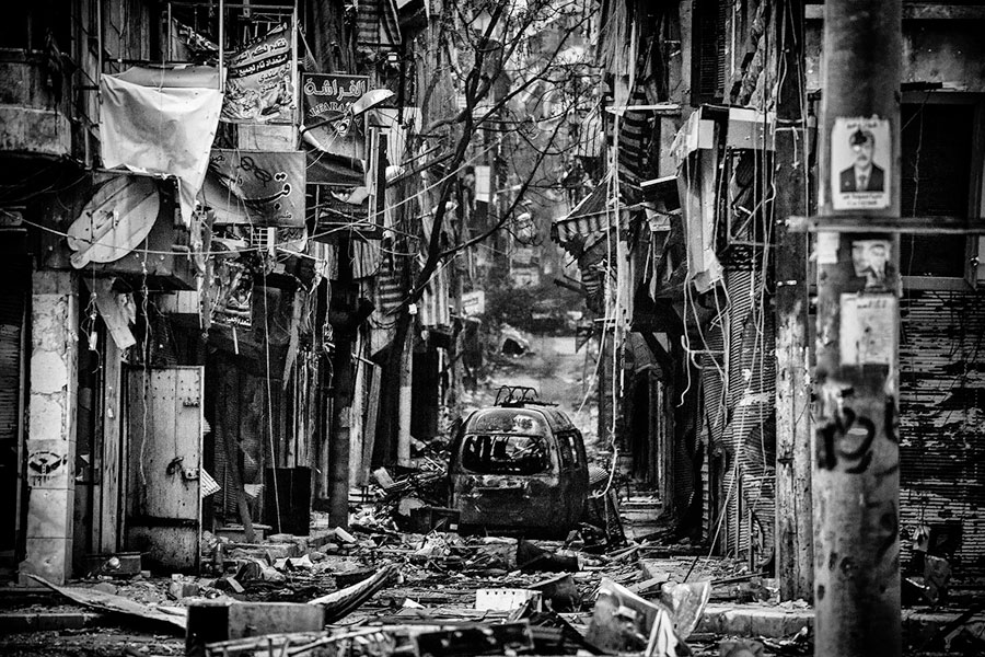 © Yusuke Suzuki, From The Series 'Aleppo, Syria - City Of Chaos'