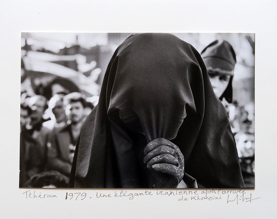 Woman In Burka, Teheran, 1979 © Marc Riboud