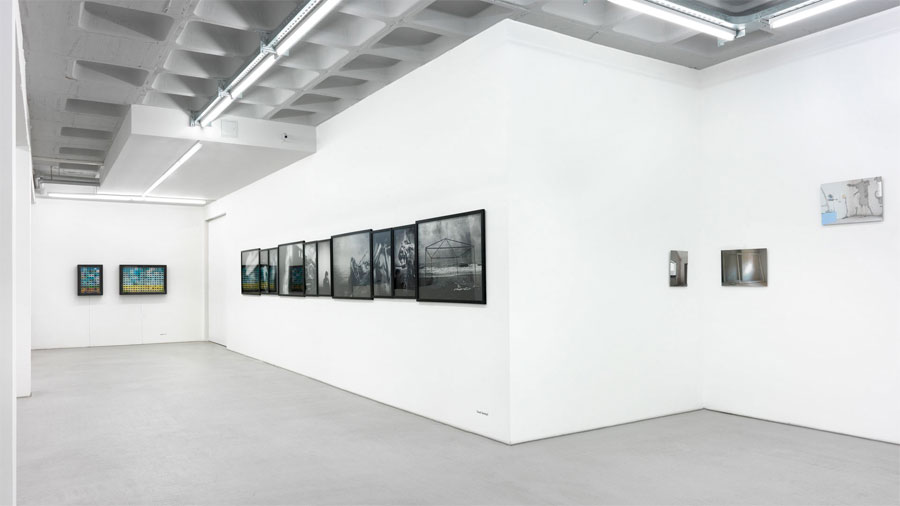 BERLINARTPROJECTS | »Greetings From Now On: Territories Of Commitments«, Installation View