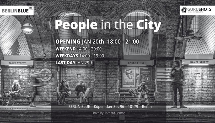 BERLIN BLUE Art | »People In The City«
