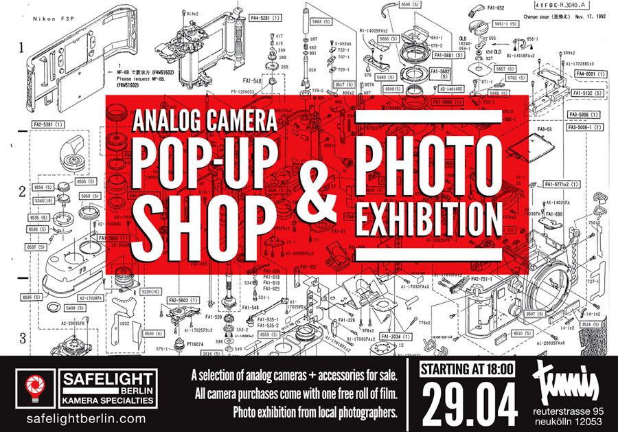 Safelight Berlin Launch | Pop-up Shop & Exhibition