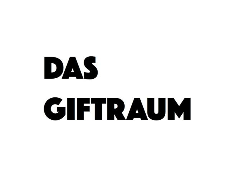 Das Giftraum Berlin | Das Giftraum is the exhibition space inside the bar Das Gift. Hosting exhibitions by Berlin based artists since 2011. With grey walls + a black floor.