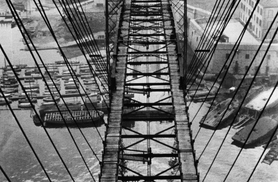 Pont Transbordeur (Transporter Bridge), Marseille, 1931 © Fritz Block Estate Archive, Stockholm/Hamburg