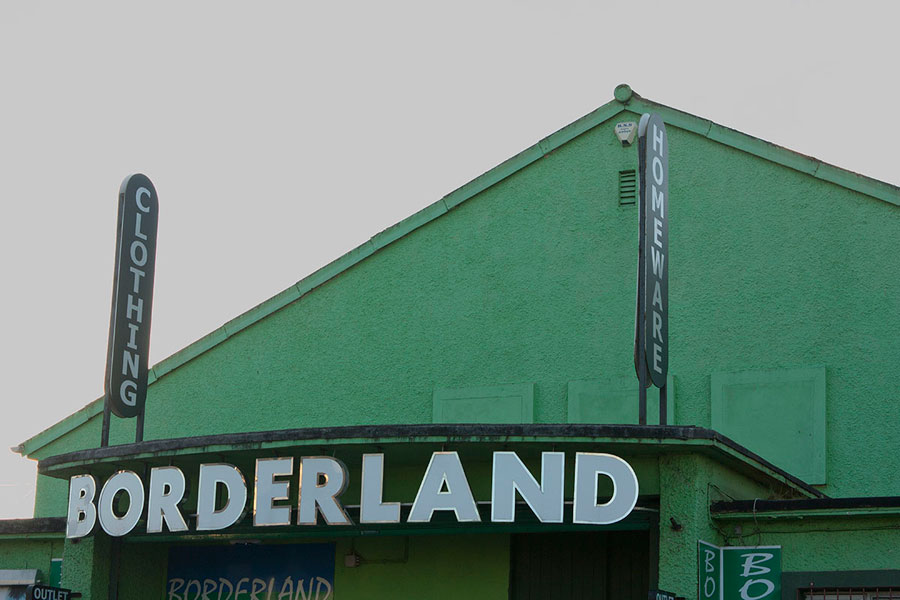 Borderland, Former Dancehall At Border Checkpoint © Valentina Culley-Foster
