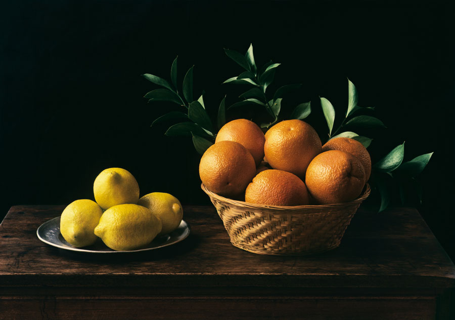 Hommage à Zurbarán (Still Life No. 6), New York, 1997, Dye Transfer, 37,2 X 53,5 Cm © Evelyn Hofer, Estate Evelyn Hofer