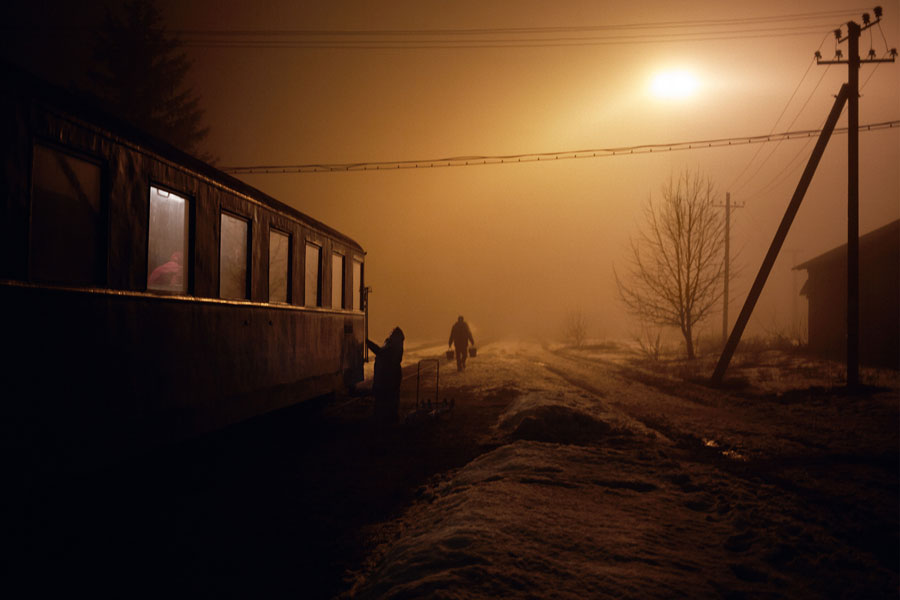 "© Janine Graubaum, From The Series ""Kosmos Train"""