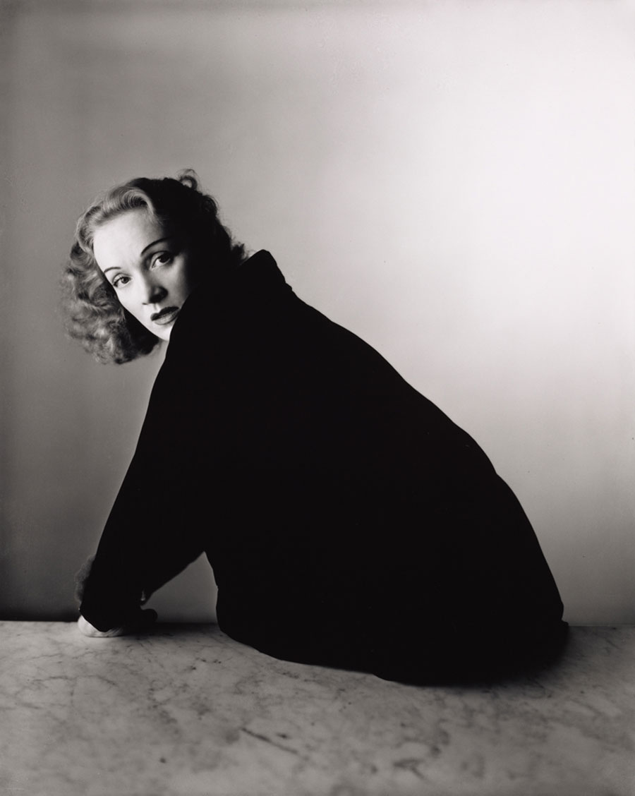 Irving Penn, Marlene Dietrich, New York, 1948 © The Irving Penn Foundation