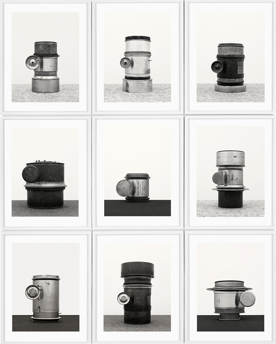 »#9.1«, From The Series »Objektiv, After Bernd & Hilla Becher«, 2015 © Isabelle Le Minh