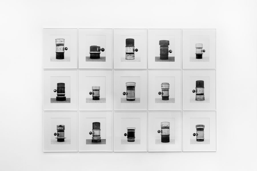 Isabelle Le Minh: »#15.2«, From The Series »Objektiv, After Bernd And Hilla Becher«, Exhibition View Kehrer Galerie, 2018, Photo: Barbara Eismann