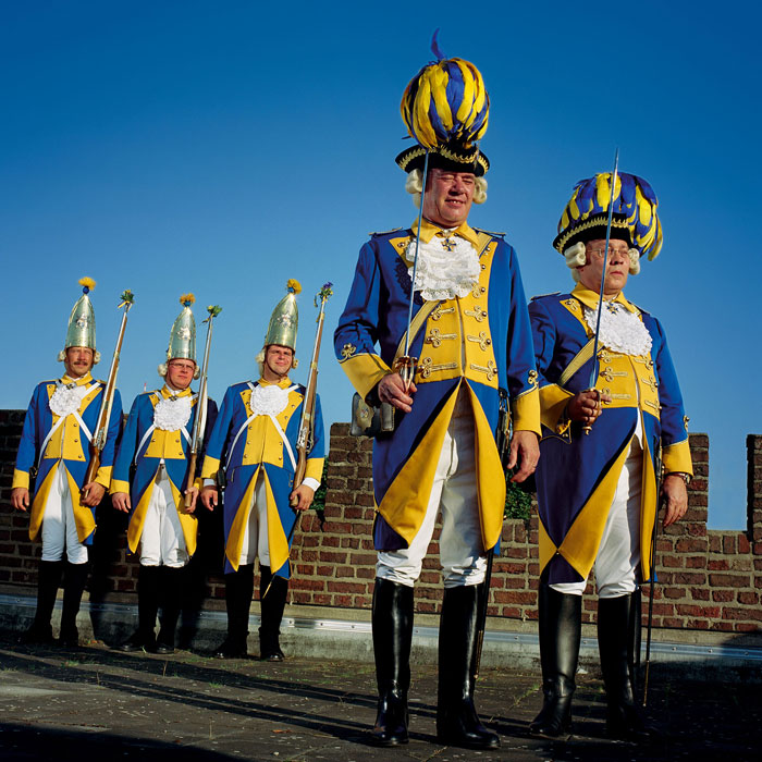 »Bürgergarde Blau-Gold«, A Traditional Club In The Cologne Carnival © Sabine Von Bassewitz