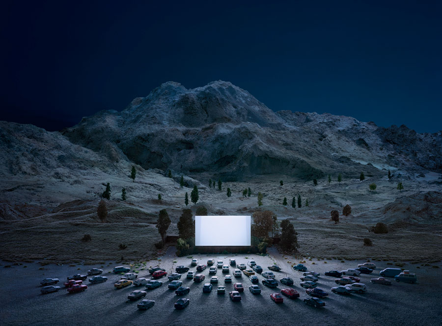 Thomas Wrede, The Luminous Screen, Aus Der Serie Real Landscapes, 2015 © Thomas Wrede, VG Bild-Kunst, Bonn