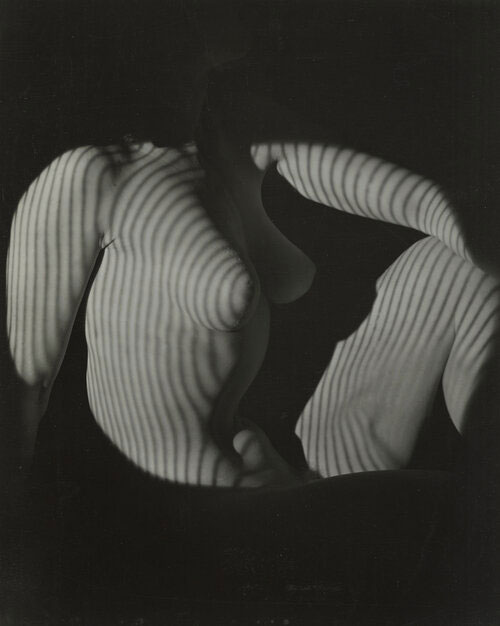 Cubist Nude Seated, New York, 1944 © 2019 The Estate Of Erwin Blumenfeld, Courtesy Howard Greenberg Gallery, NYC