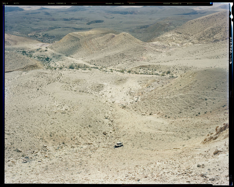 Stephen Shore, Large Crater, Negev Desert, 2009 © Stephen Shore