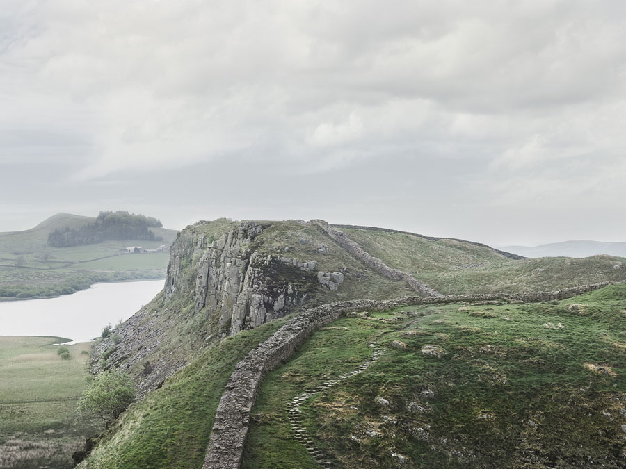 Hadrian's Wall, England, 2017, 180 X 140 Cm (also Available In 90 X 70 Cm), Archival Pigment Print, Ed. Of 3 + 1 AP's (5 + 1 AP's) © Roger Eberhard, Courtesy Robert Morat Galerie