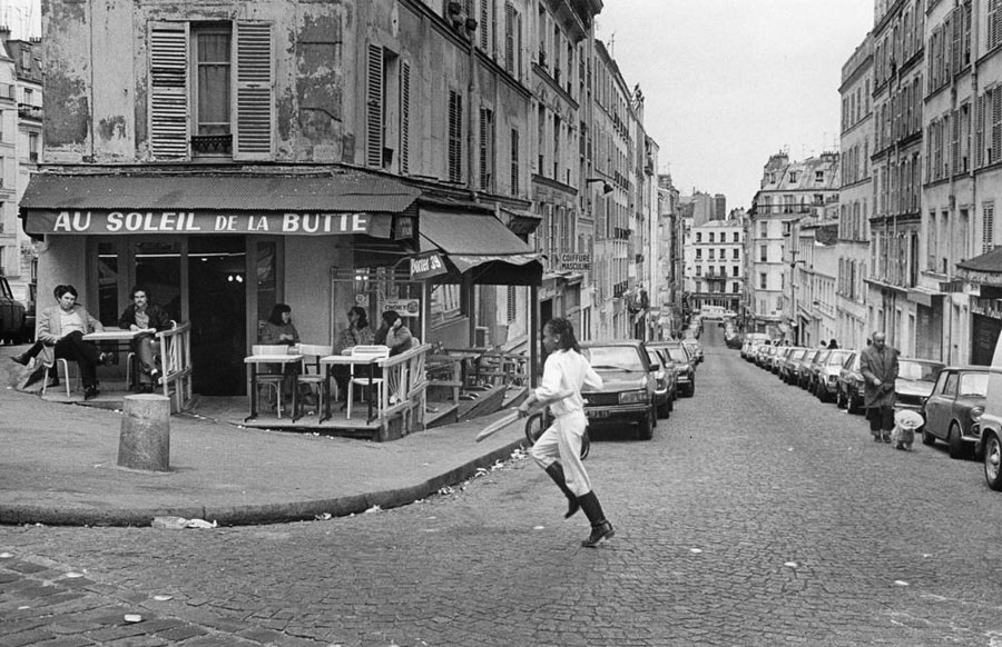"Roger Melis, Rue Muller, 1982, From The Series ""Paris By Foot"" © Roger Melis Estate / Mathias Bertram"