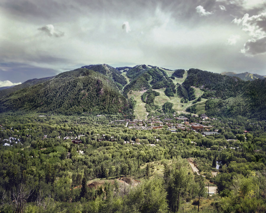 Elmar Haardt, Aspen, CO, 2018, 205 X 255 X 6 Cm, Diasec C-Print, Mounted On Aludibond, Edition Of 3 + 2 AP, From The Series Land Of Dreams (2017 – 2019), Signed, Numbered And Dated On Verso, AP 2 Of 2 © Elmar Haardt (On View At DIE GANZE FREIHEIT, Berlin)