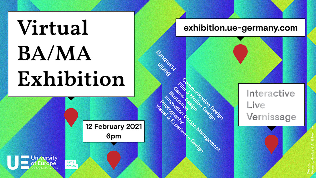 University Of Europe For Applied Sciences | »WE MISS GETTING LOST« VIRTUAL BA/MA EXHIBITION