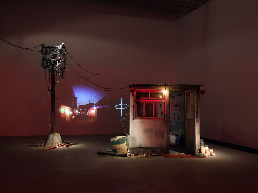 Tracey Snelling, Wang's House, 2009 (courtesy Of Aeroplastics Contemporary, Brussels) © T. Snelling